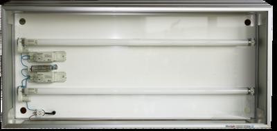 OCCASION  dialichtbak 10 cm. softline profiel 30 x 60 cm