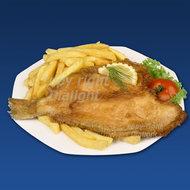 bord-friet-met-schol-en-garnering