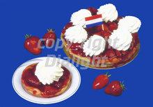 aardbeienvlaaitje